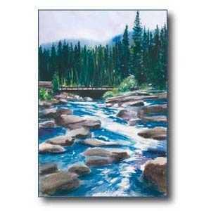 Debra Sutherland 22 in x 28 in A River Runs Through It Print