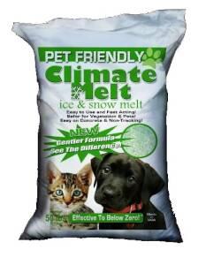 CLIMATE RX MELT50# Pet Friendly Climate Melt Ice & Snow Melt 50 Lb Bag