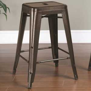 Coaster 103059BR 24 in Backless Counter Height Stool