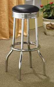 Coaster 2408 Barstool 29 in Black