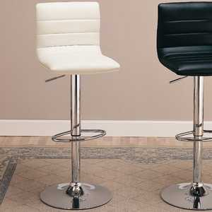 Coaster 120345 29 in Upholstered Bar Chair With Adjustable Height