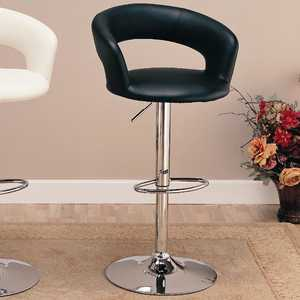 Coaster 120346 29 in Upholstered Bar Chair With Adjustable Height