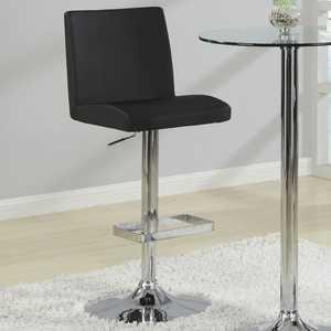 Coaster 120357 Contemporary Adjustable Black Stool