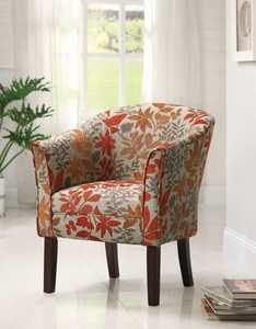 Coaster 460407 Autumn Leaves Accent Chair