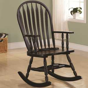 Coaster 600186 Traditional Wood Rocker