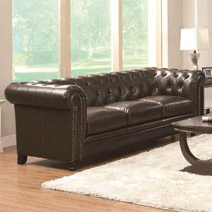 Coaster 504551 Roy Traditional Button-Tufted Sofa