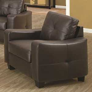 Coaster 502733 Jasmine Bonded Leather Chair