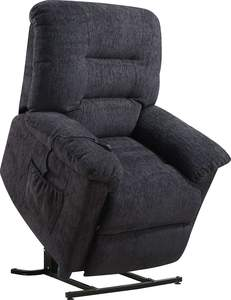Coaster 601015 Dark Gray Power Lift Recliner With Remote Control