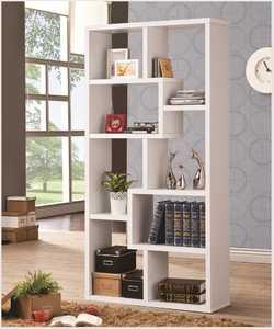 Coaster 800136 Multiple Cubed Rectangular Bookcase, White