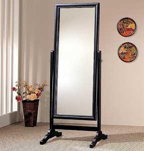 Coaster 900168 Black Rectangular Cheval Mirror
