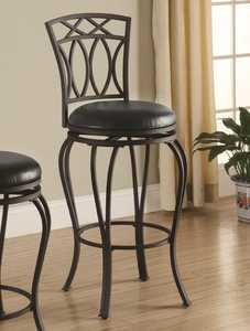 Coaster 122060 29 in Elegant Metal Barstool