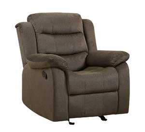 Coaster 601883 Rodman Chocolate Casual Glider Recliner