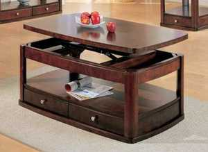 Coaster 700249 Pie Occasional 2-Drawer Sofa Table