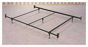 Coaster 1208 Queen Bed Frame (5 Legs and Glides)