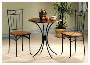 Coaster 5939 Dining Set 3pc Bistro