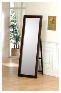 Coaster 300004 Cappuccino Standing Floor Mirror