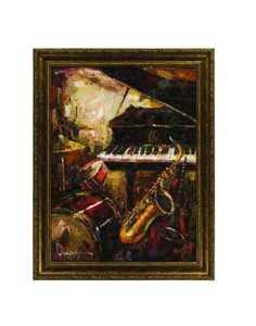 Coaster 960383 Painting Saxophone Fantasy