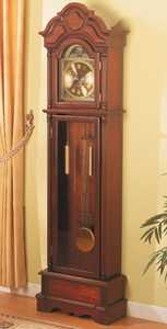 Coaster 900749 Traditional Brown Grandfather Clock