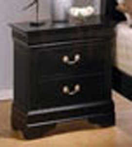 Coaster 201072 Louis Philippe 2 Drawer Nightstand