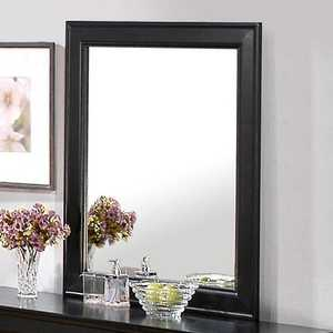 Coaster 201074 Louis Philippe Black Traditional Dresser Mirror