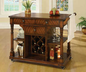 Coaster 910018 Wine Cabinet