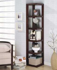 Coaster 800268 Contemporary Corner Bookcase