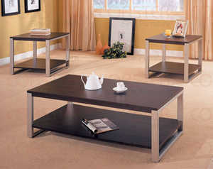 Coaster 700075 3-Piece Table Set
