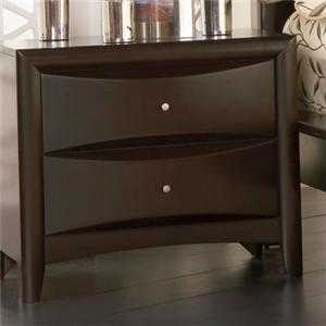 Coaster 200412 Phoenix 2 Drawer Nighstand