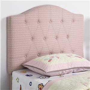 Coaster 460303 Alry Twin Pink Patterned Headboard