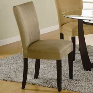Coaster 101494 Bloomfield Microfiber Parson Side Chair