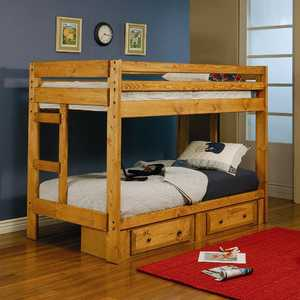 Coaster 460243 Wrangle Hill Twin Over Twin Bunk Bed