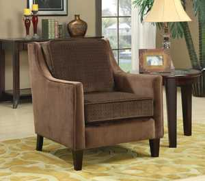 Coaster 902043 Embossed Basket-Weave Accent Chair