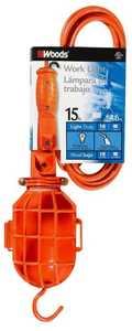 Woods 0200 15-Foot Orange Trouble Work Light