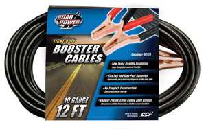 Coleman Cable 08120 Booster Cable 200a 10ga 12 in