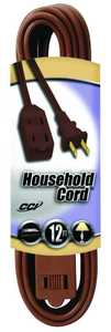 Coleman Cable 09403-89-07 12-Foot 13-Amp Brown Cube Tap Indoor Extension Cord