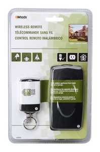Woods 32555 Outdoor Wireless Remote Control