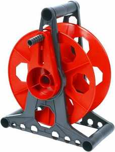 Designers Edge E-103 150-Foot Red Pro Cord Storage Reel With Stand