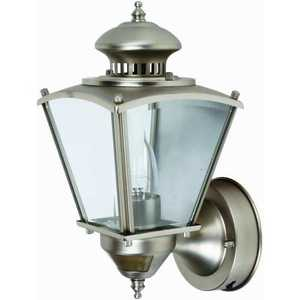 Designers Edge L2552PW Coach Light 151/2 in With Motion Pewter