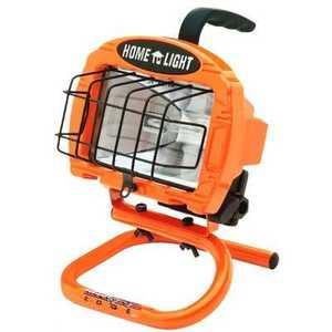 Designers Edge L860 250-Watt Orange Portable Work Light With S-Handle