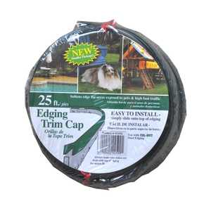 Collier Metal Spec Ltd 25VTC Vinyl Edging Trim Cap 25 ft Roll Green