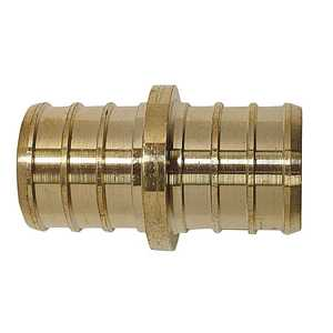 Apollo/PEX APXC3434 Brass Pex Coupling - 3/4 in Barb