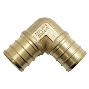 Apollo/PEX APXE3434 Brass Pex Elbow - 3/4 in Barb