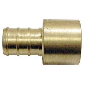 Apollo/PEX APXFS1212 Brass Pex Female Solder Adapter - 1/2 in Barb X 1/2 in Fs