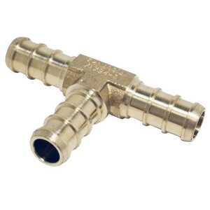 Apollo/PEX APXT38 Brass Pex Tee - 3/8 in Barb