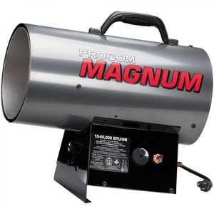 ProCom PCFA60V Portable Liquid Propane Heater 60000 Btu Forced Air