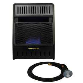 Procom ML100TBAHR Procom 10,000-Btu Portable Convection Liquid Propane Heater Ml100tbahr
