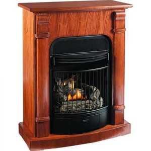 Procom EDP200T2-MO Fireplace Compact Df M Oak