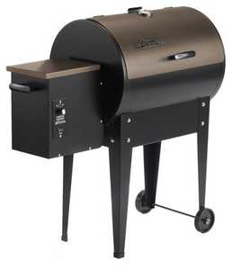 Traeger BBQ155 Pellet Grill Junior With Thermostat