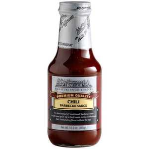 Traeger SPC106 Chili Barbecue Sauce 12.9-Oz