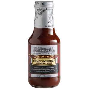 Traeger SPC121 Honey Bourbon Barbecue Sauce 12.8-Oz